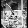 San Fernando publicity, Ann Lancaster, model, San Fernando, CA, 1936