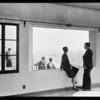 Shots at View Park, Seville home, Los Angeles, CA, 1930