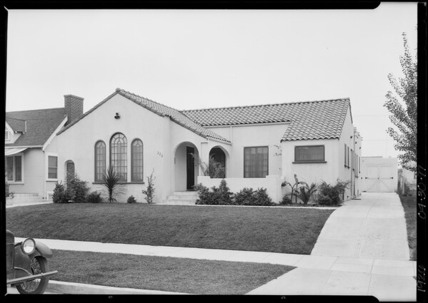 322 South Orange Drive, Los Angeles, CA, 1926