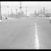 Intersection, Huntington Drive North and North Soto Street, Barnard - #34463, Los Angeles, CA, 1934
