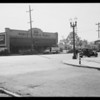 Intersection of West Pico Boulevard & Pelham Avenue, Los Angeles, CA, 1935