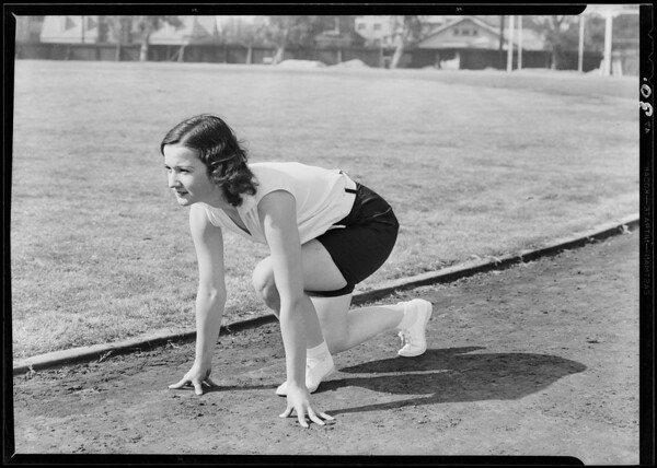"""""""Winner"""" athletic suits, Southern California, 1930"""