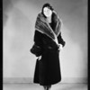 Seal skin coat, May Co., Southern California, 1930