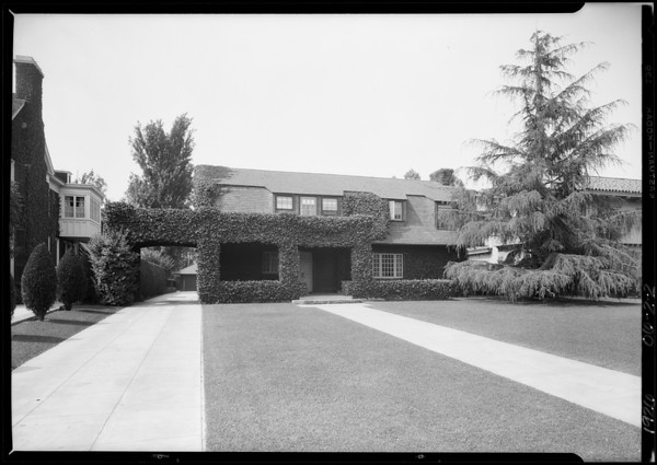 Mrs. Martin, #9 Berkeley Square, Southern California, 1926