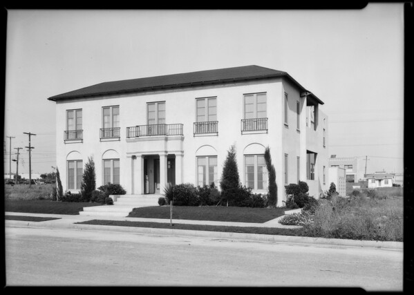 318 South Detroit Street, Los Angeles, CA, 1926