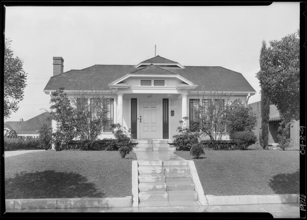 617 North Gower Street, Los Angeles, CA, 1926