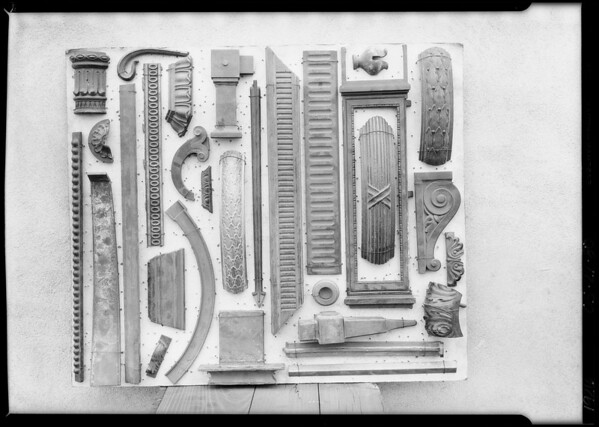 Pattern boards, Southern California, 1926