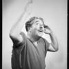 Portraits of cast, California Festival Association, Southern California, 1934