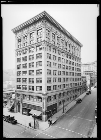 Wright & Callender building, Los Angeles, CA, 1925