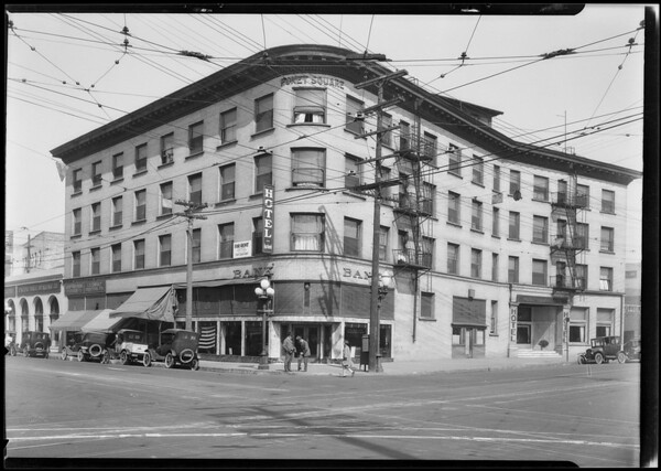 Pacific Southwest Bank, West Pico Boulevard & South Grand Avenue, Los Angeles, CA, 1924