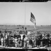 "Opening Ceremonies ""Flowerland"", Paul J. Howard's Flowerland Nursery, Los Angeles, CA, 1940"