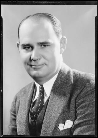 Portrait of Mr. Lee C. Ward, Southern California, 1934