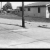 McBride vs. Gaul accident, West 96th Street and South Normandie Avenue, Westmont, CA, 1931