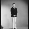 Full length portrait of boy, Southern California, 1940