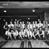 Swett-Crawford bowling teams, Southern California, 1930