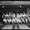 Swett-Crawford bowling teams, Southern California, 1930