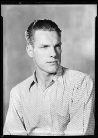 Western Union employee, former student, National Automotive School, Southern California, 1930
