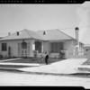 Building activity and homes in Crenshaw Manor, Los Angeles, CA, 1940