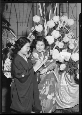 Flower festival, Southern California Flower Association, Southern California, 1934
