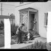 Living in Wyvernwood, 2901 East Olympic Boulevard, Los Angeles, CA, 1940