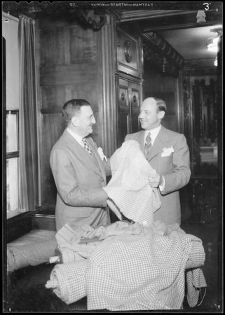 Mr. Jules Mendel & Mr. Charles Levy, Southern California, 1934
