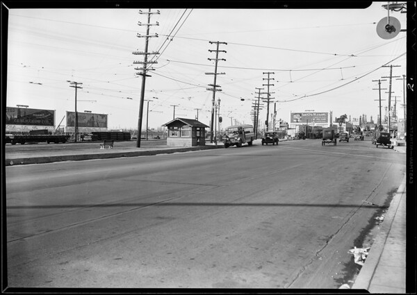Intersection of Willow Street & American Avenue [Long Beach Boulevard], Long Beach, CA, 1930