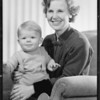Baby and Ms. Paulson, Southern California, 1934