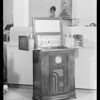 Radios and ironer, Southern California, 1934