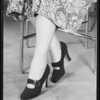 Shoes for Roto, Southern California, 1934