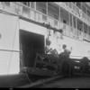 Loading shipment aboard Arizonan - American Hawaiian Line, Southern California, 1929 [image 10]