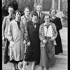 Composite photograph of phone exchange girls, Southern California, 1926