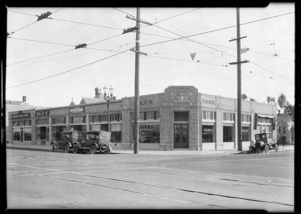 Pacific Southwest Bank, West Washington Boulevard & South Burlington Avenue branch, Los Angeles, CA, 1924
