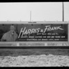 Sign boards at Avenue 37 and Pasadena Avenue, Los Angeles, CA, 1930