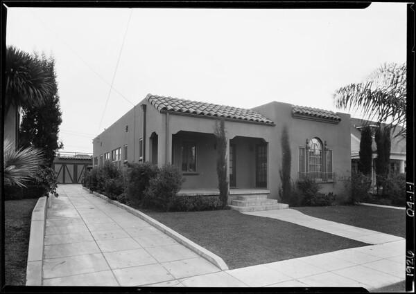 1238 North Mariposa Avenue, Los Angeles, CA, 1926