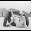 Nelson & Price tires, India Rubber, Southern California, 1926
