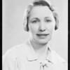 Kathryn Flanagan, Southern California, 1934