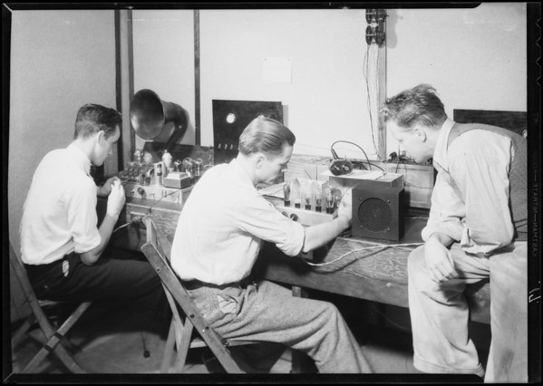 Radio instructions to students for catalog, Southern California, 1932