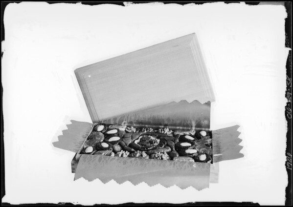 Boxes of candy, Southern California, 1926