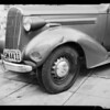 Mrs. M. Youngblood's Car - (Damage), 1234 East Foothill Boulevard, La Cañada Flintridge, CA, 1940