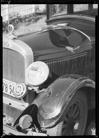 Hupmobile, 3929 West 27th Street, Maurice-Cohen, Southern California, 1934
