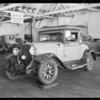 Franklin and Oldsmobile assured - L.D. Biddle, Southern California, 1931