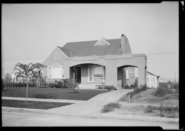 3130 Glendon Avenue, Los Angeles, CA, 1924