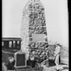 Battle of Cahuenga monument, Los Angeles, CA, 1925