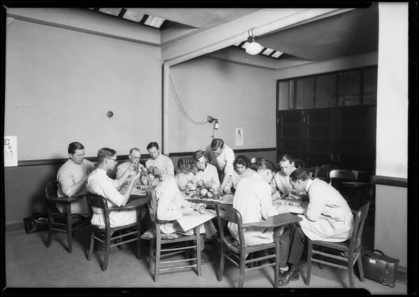 School activities, Southern California, 1925