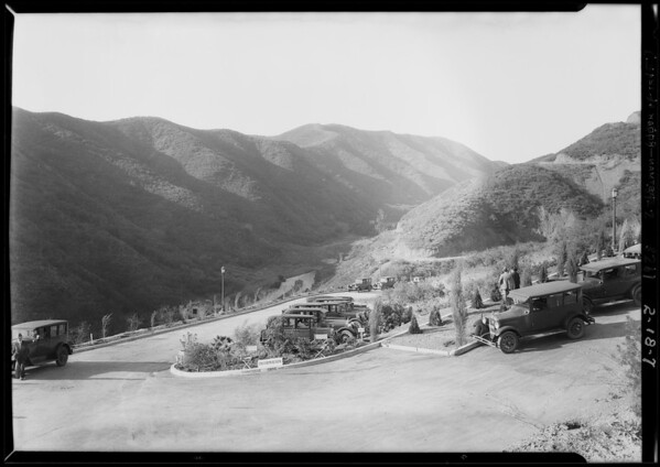 Opening of Beverly Ridge, Southern California, 1928
