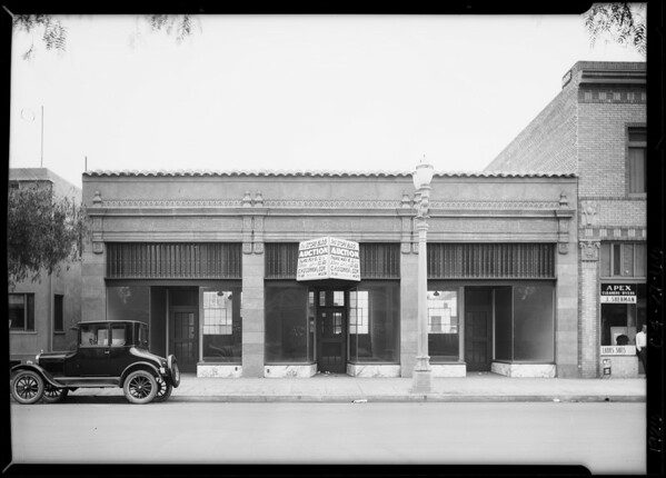 1638 West Adams Boulevard, Los Angeles, CA, 1926