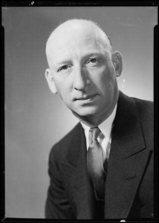 Portrait of King Keaton, Southern California, 1934