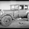 Buick sedan at Classic garage, Southern California, 1934