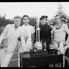 Tennis tournament, Los Angeles, CA, 1934