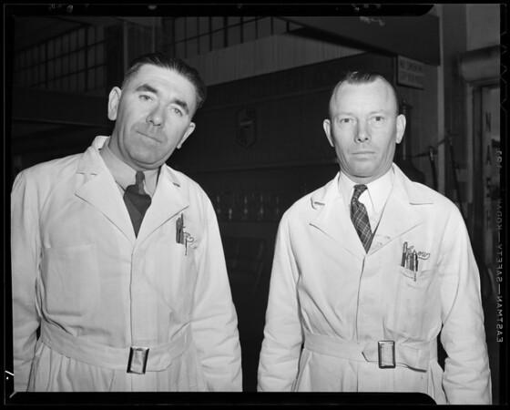 Nash California Company service groups, 1240 South Figueroa Street, Los Angeles, CA, 1941